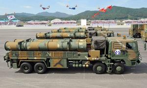 Uy lực kho tên lửa Hàn Quốc dùng răn đe Triều Tiên