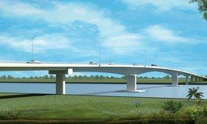 Xây cầu Châu Đốc thay phà Châu Giang với kinh phí hơn 900 tỷ