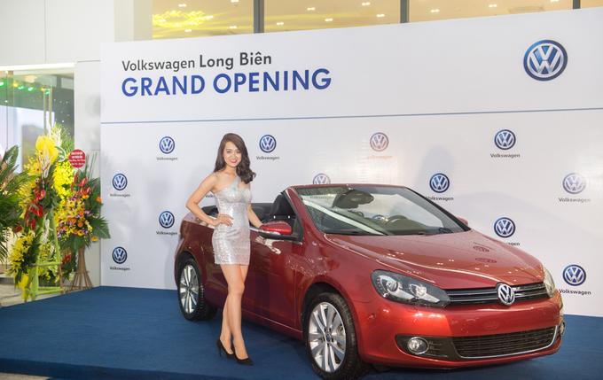 Volkswagen khai trương đại lý thứ 6 tại Hà Nội