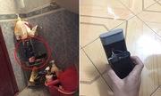 Sinh viên ở trọ phát hiện camera giấu trong nhà tắm nam, nữ