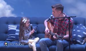 Học tiếng Anh qua màn song ca của cặp bố con Mỹ