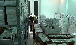 TP HCM bắt lô hàng mắt kính lớn có xuất xứ từ Trung Quốc