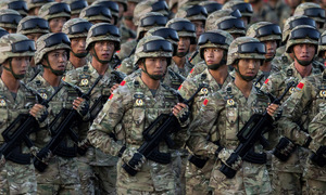 Quân đội Trung Quốc cắt giảm hơn một nửa quân số