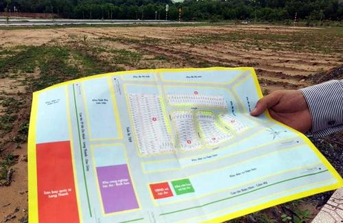 Một số dự án đất nền tha hồ chém gió về quy hoạch 21 hecta vùng phụ cận quanh sân bay để bán đất nền. Ảnh: Phước Tuấn