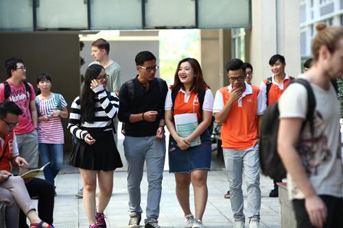 Sinh viên trường Đại học Việt Đức - VGU.