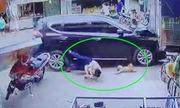 Ôtô điên tông loạt người đi bộ, một người chết