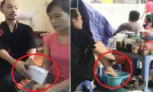 Người quay clip 'dùng nước rửa chân pha trà' đền 15 triệu đồng