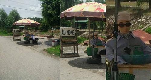 Người bán ấu chất nhất Việt Nam.
