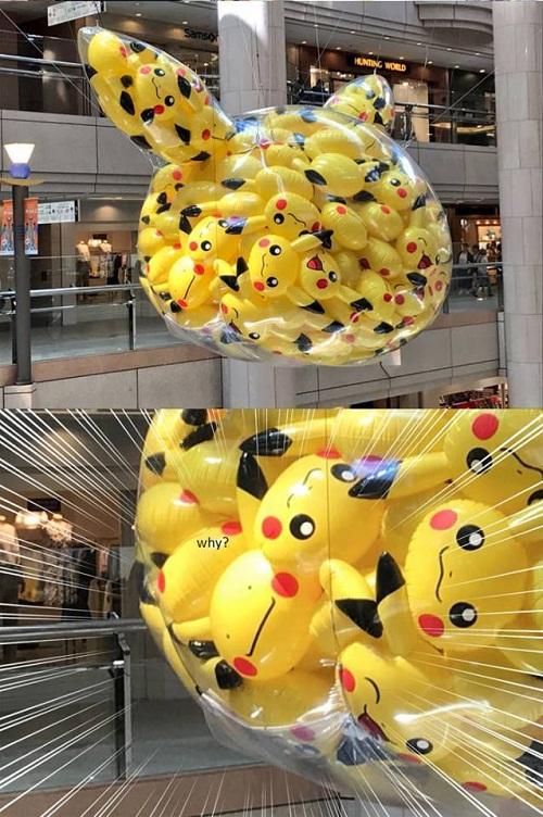 Trong Pikachu có Pikachu.
