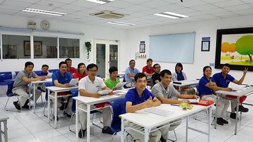 Công tác đào tạo TOEIC cho cán bộ nhân viên tại Công ty TNHH Enkei Việt Nam