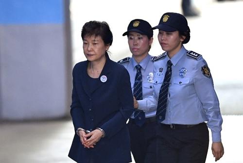 Cựu tổng thống Hàn Quốc Park Geun-hye. Ảnh: