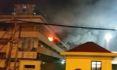Cháy khoa khám bệnh Bệnh viện Bạch Mai