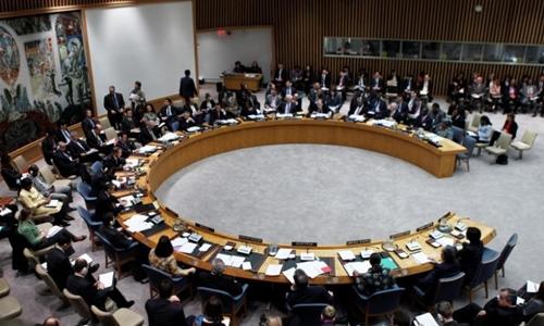 Một phiên họp Hội đồng Bảo an tại trụ sở Liên Hợp Quốc, New York, Mỹ. Ảnh: Reuters.