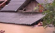 Nhiều ngôi nhà ở Yên Bái ngập đến nóc