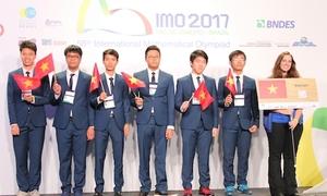 41 năm thi Olympic Toán quốc tế của đội tuyển Việt Nam