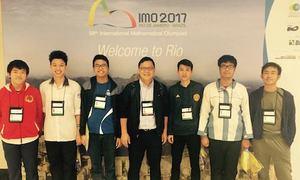 Nam sinh Việt đạt điểm cao nhất cuộc thi Olympic Toán quốc tế