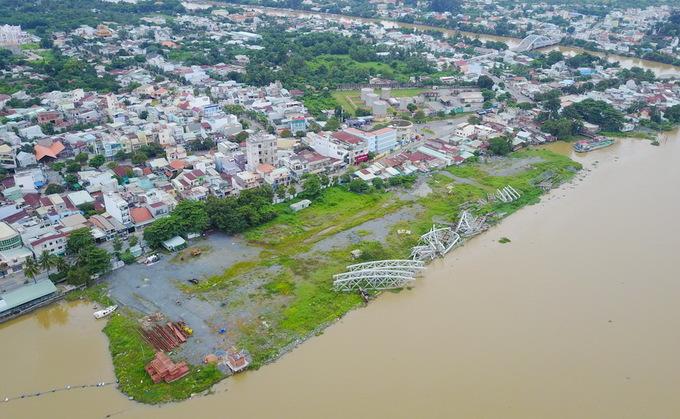 Dự án lấn sông Đồng Nai như thế nào sau 2 năm tạm dừng
