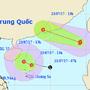 Bão kết hợp áp thấp nhiệt đới trên Biển Đông