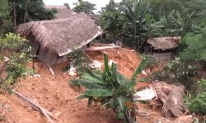 Hơn 140 ngôi nhà hư hỏng sau mưa lũ ở Yên Bái