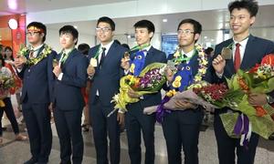 Thí sinh thi Toán Olympic mang về Việt Nam 6 huy chương