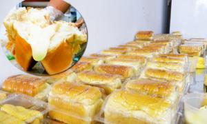 Bánh mì 'phô mai chảy tràn' gây sốt giới trẻ Sài Gòn