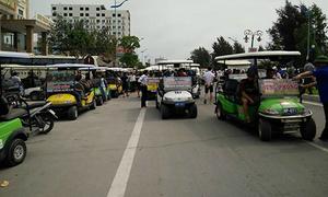 Chủ tịch Thanh Hoá đối thoại với dân về vụ 'xe điện gây náo loạn'