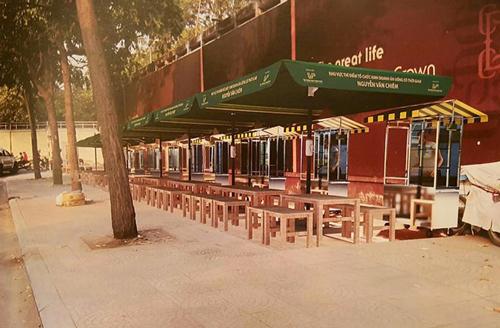 Hai phố hàng rong đầu tiên ở Sài Gòn sẽ khai trương cuối tháng 8