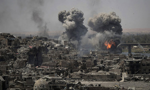 Quân đội Iraq kích nổ nhà máy bom IS