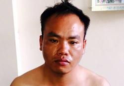 Người đàn ông Trung Quốc trộm ô tô của nhà báo bị bắt. Ảnh: Cửu Long