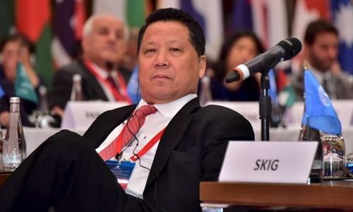 Ng Lap Seng, 69 tuổi, tỷ phú Macau. Ảnh: Reuters.