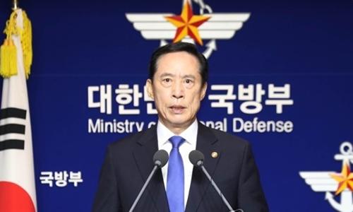 Bộ trưởng Quốc phòng Hàn Quốc Song Young-moo. Ảnh: Yonhap.