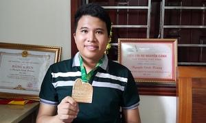 Chàng trai giành HCV Toán quốc tế được ví như vận động viên