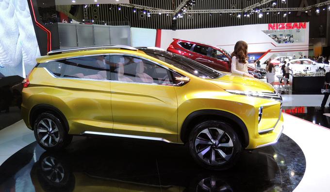 XM Concept - xế đa dụng tương lai của Mitsubishi tại Việt Nam