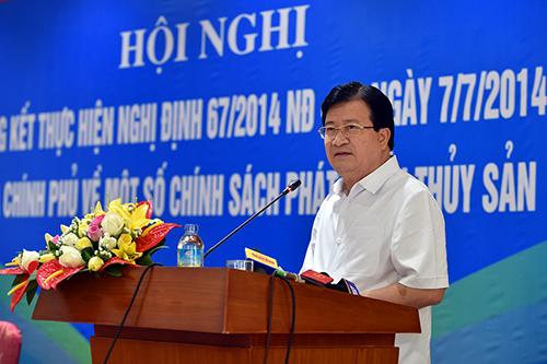 Phó Thủ tướng Trịnh Đình Dũng yêu cầu sớm khắc phục tàu cá sớm khắc phục sự cố tàu vỏ thép hỏng hóc, việc này phải làm ngay, đây là việc vừa có ý nghĩa kinh tế, có ý nghĩa chính trị, xã hội cao.