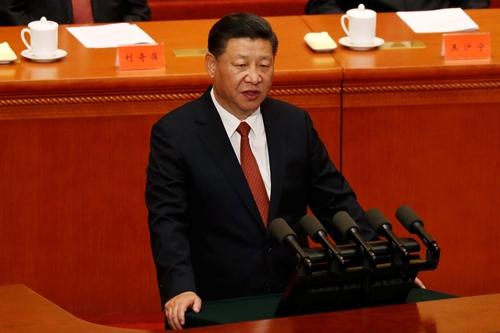 Chủ tịch Trung Quốc Tập Cận Bình phát biểu tại