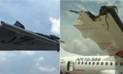 Máy bay Indonesia đâm nhau trên đường băng