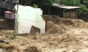 Ba người chết, 46 căn nhà bị cuốn trôi trong lũ quét Sơn La