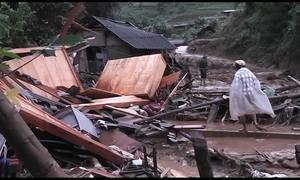 Lũ ống tàn phá tan hoang ở 4 tỉnh Tây Bắc