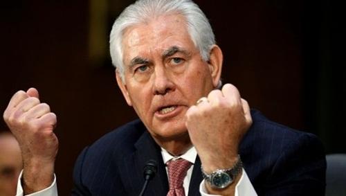 Ngoại trưởng Mỹ Rex Tillerson. Ảnh: AP