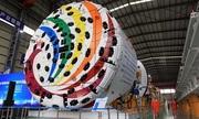 Trung Quốc xuất xưởng cỗ máy đào hầm 1.900 tấn