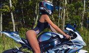 Nữ biker người Nga tử nạn khi chạy môtô tốc độ cao