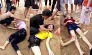 Dân Phú Yên lao xuống biển cứu ba nữ sinh Đắk Lắk đuối nước