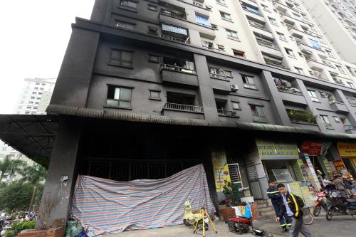 Hà Nội còn 65 chung cư cao tầng vi phạm phòng cháy