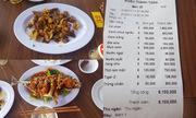 Quán ăn Đà Nẵng bị tố chặt chém khách du lịch