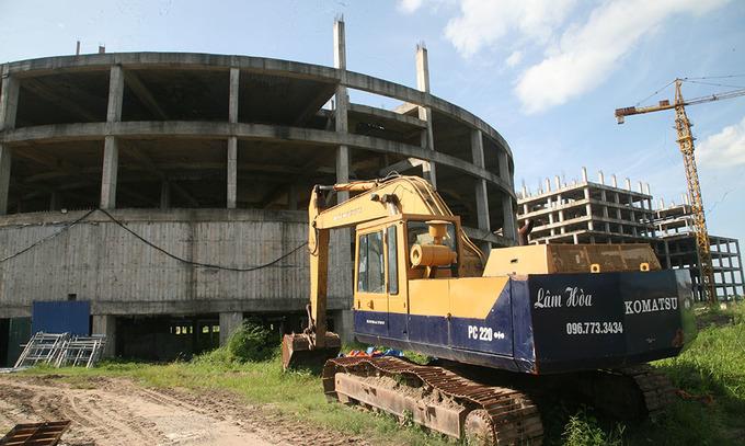 Dự án bệnh viện 850 tỷ bỏ hoang ở Nam Định