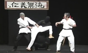 Cao thủ Nhật Bản thể hiện võ công siêu quần