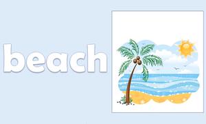 Học từ vựng tiếng Anh khi đi biển