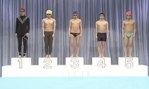 Cuộc thi bơi 'độc nhất vô nhị' của người Nhật