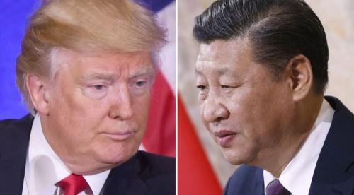 Tổng thống Mỹ Donald Trump và Chủ tịch Trung Quốc Tập Cận Bình. Ảnh: AFP.