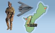 Dàn khí tài Mỹ ở Guam Triều Tiên muốn tấn công